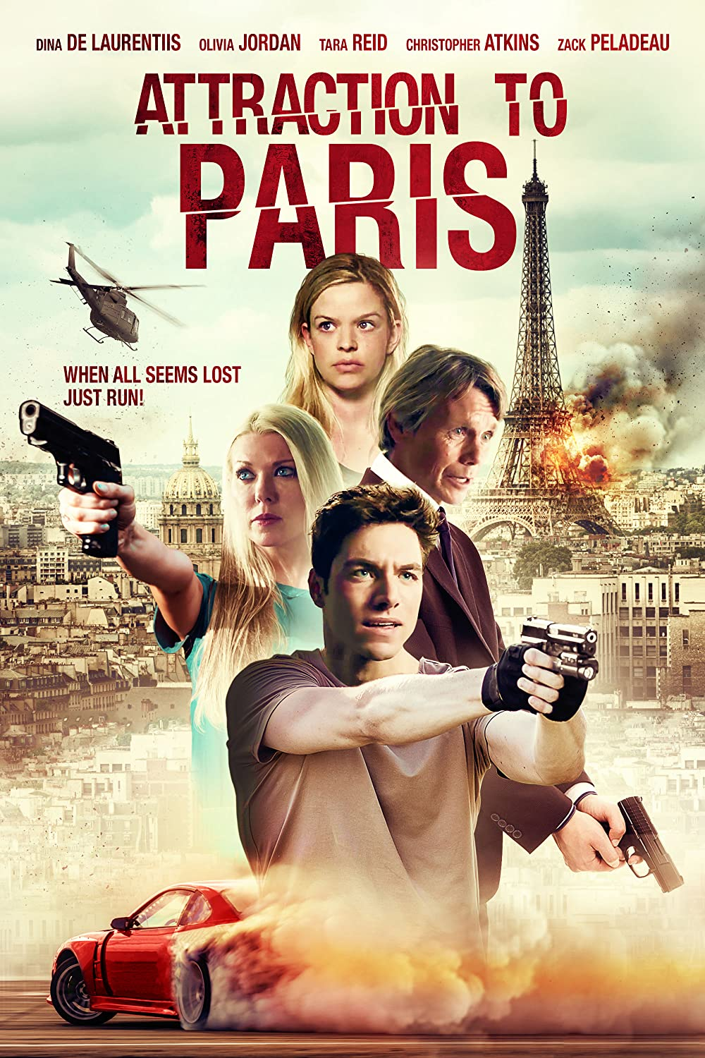 Attraction to Paris 2021 English 720p HDRip 800MB Download