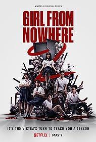 Chicha Amatayakul, Patricia Tanchanok Good, Phantira Pipityakorn, Chanya McClory, Bhumibhat Thavornsiri, and Teeradon Supapunpinyo in Girl From Nowhere (2018)