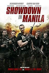 Casper Van Dien, Mark Dacascos, Olivier Gruner, Cary-Hiroyuki Tagawa, and Alexander Nevsky in Showdown in Manila (2016)