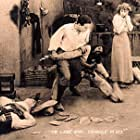 Douglas Fairbanks, William Lowery, and Seena Owen in The Lamb (1915)