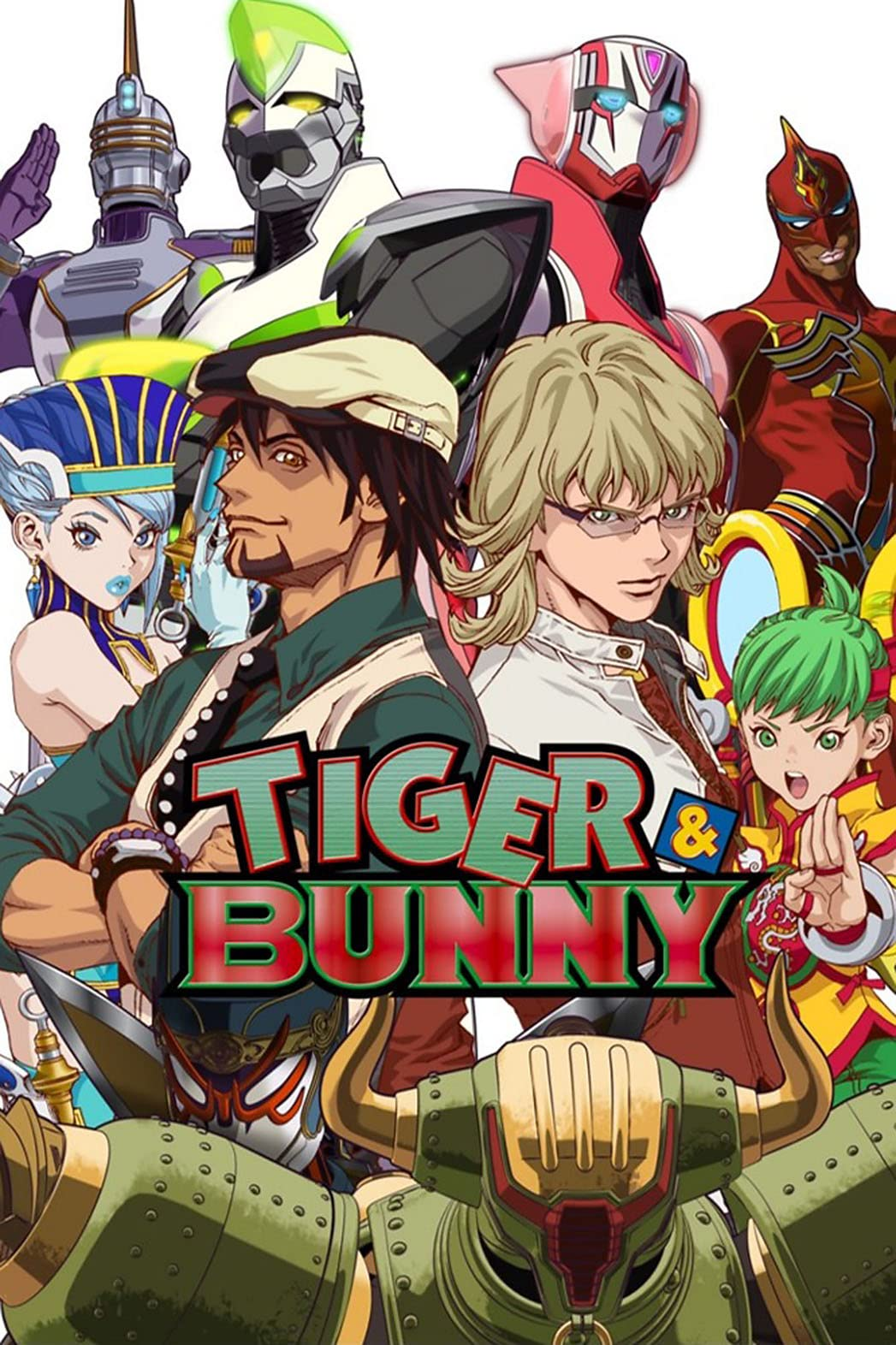 TIGER & BUNNY | awwrated | 你的 Netflix 避雷好幫手!