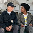 Mark Harmon and Diona Reasonover in NCIS: Naval Criminal Investigative Service (2003)