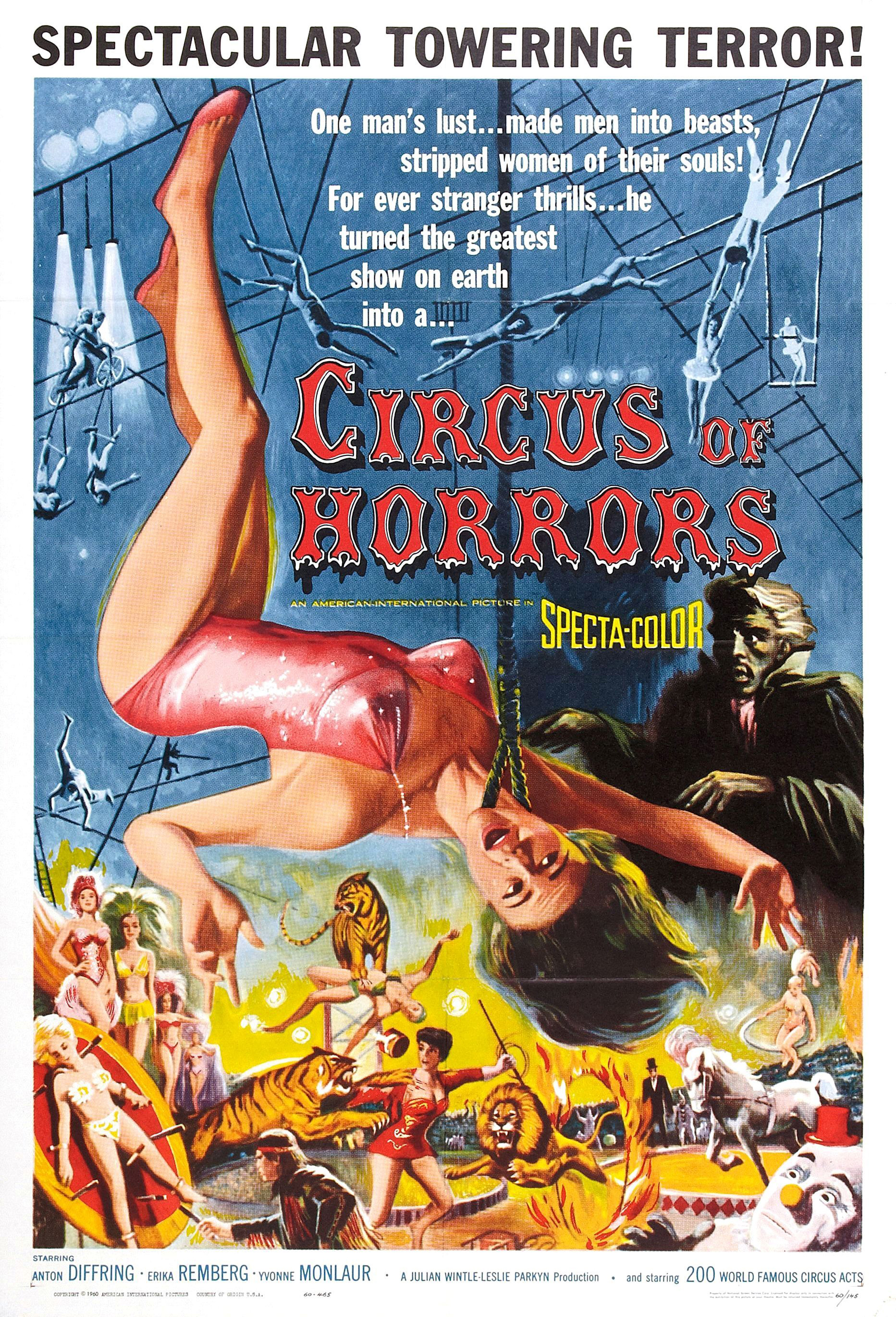 Filme Circo dos Horrores Download