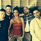 """Chop Shop"" main cast (from left to right): Hayden Szeto, John Bregar, Carmen Serano, Luis Moncada, Rene Moran."