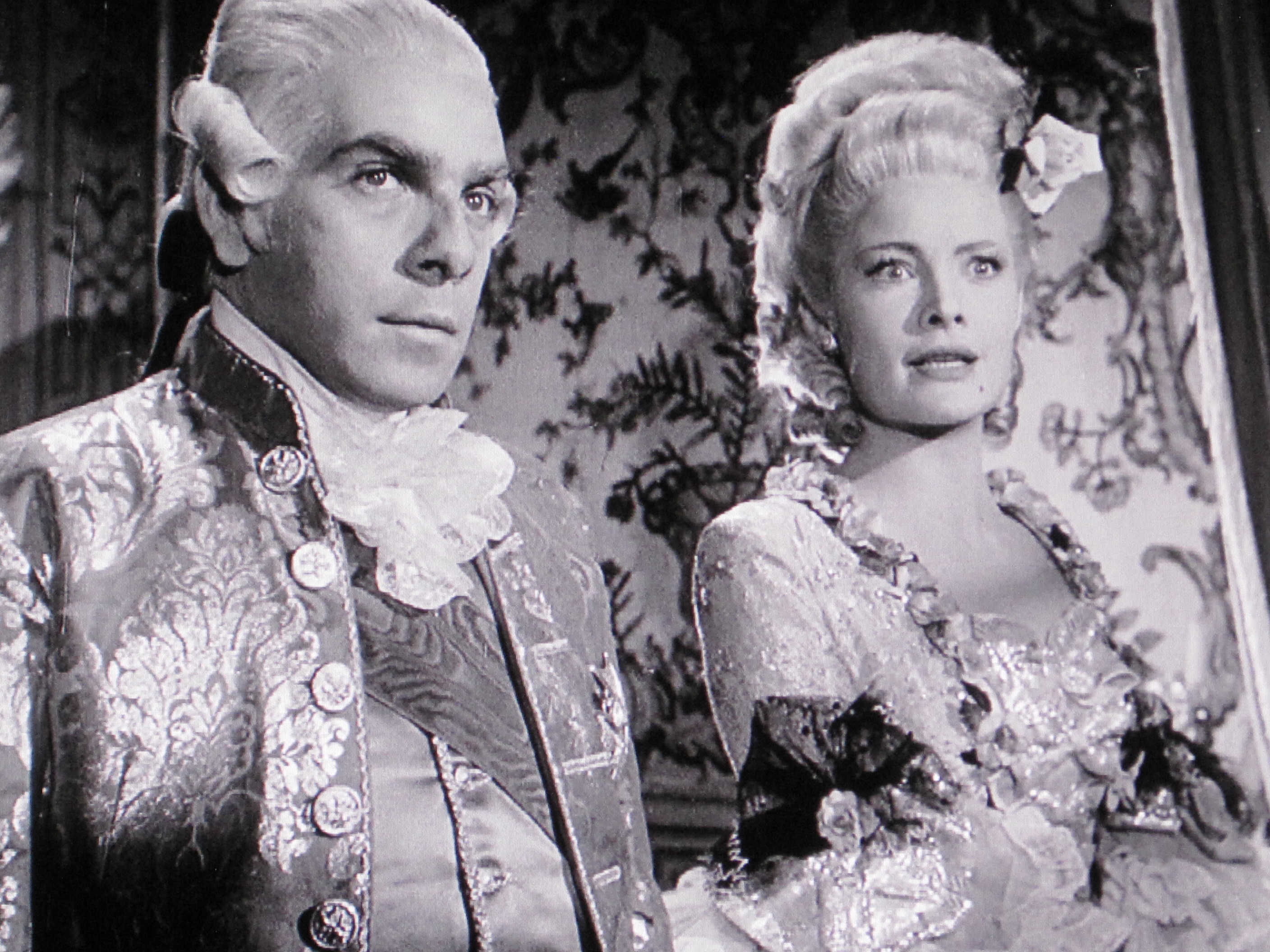 Nancy Guild in Black Magic (1949)
