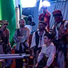 Bullet Valmont, Ozero Novastar, Louie Lambie, Ed Gage, and Jackson Schaffer in Timecrafters: The Treasure of Pirate's Cove (2020)