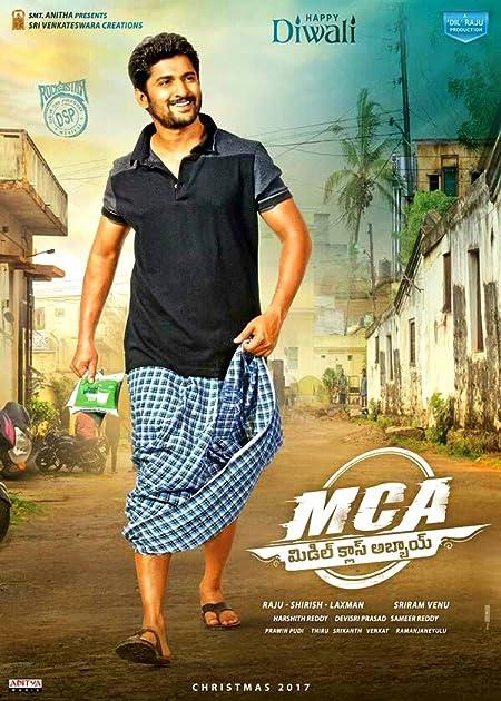 MCA Middle Class Abbayi (2017) Dual Audio [Hindi+Telugu] UNCUT HD-Rip – 480P | 720P – x264 – 400MB | 1.6GB – Download