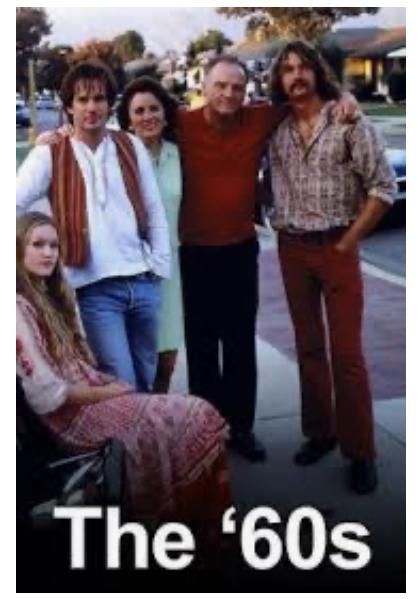 Jerry O'Connell, Julia Stiles, Annie Corley, Josh Hamilton, and Bill Smitrovich in The '60s (1999)
