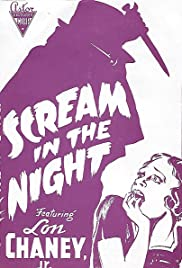 A Scream in the Night(1935) Poster - Movie Forum, Cast, Reviews