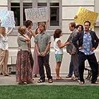 Diedrich Bader, Andi Matheny, Mike Rad, Kimberly Irion, and George Alvarez in Monk (2002)