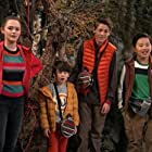 Olivia Sanabia, Albert Tsai, Paxton Booth, and Dakota Lotus in Coop and Cami Ask the World (2018)