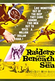 Raiders from Beneath the Sea (1964) Poster - Movie Forum, Cast, Reviews