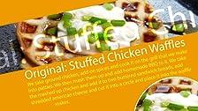 Original: gofres rellenos de pollo