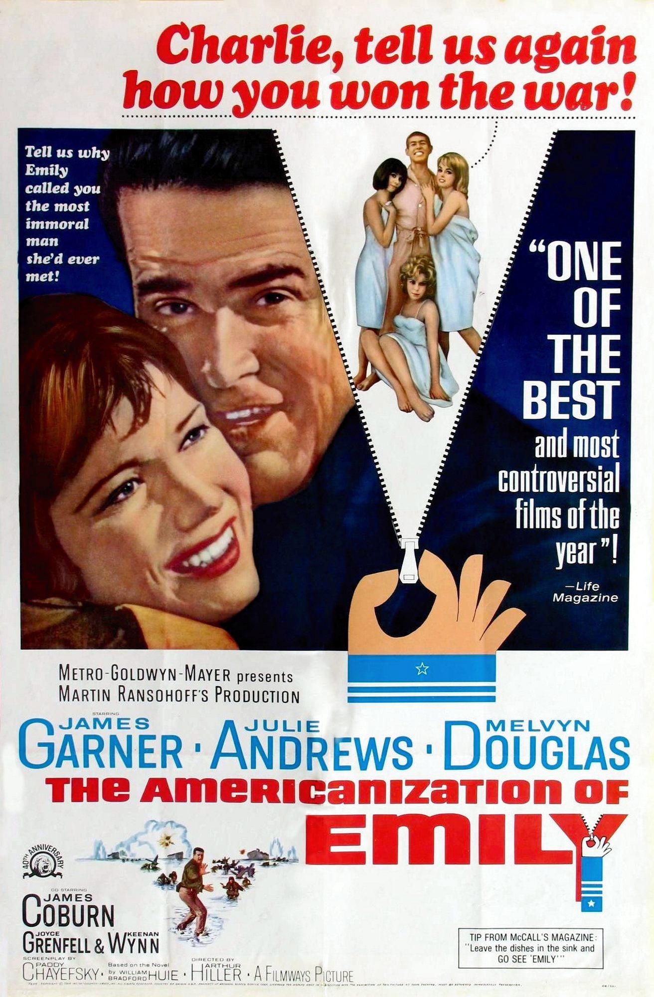 The Americanization of Emily (1964) - IMDb