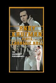 Andy Kaufman Plays Carnegie Hall Poster