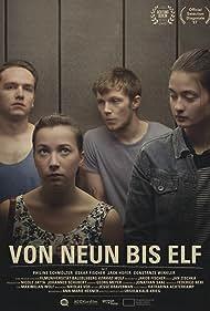 Oskar Fischer, Philine Schmölzer, Jack Hofer, and Constanze Winkler in Von neun bis elf (2017)