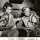 Richard Widmark and George Chakiris in Flight from Ashiya (1964)