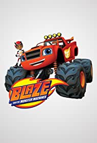 Nolan North and Caleel Harris in Blaze and the Monster Machines (2014)