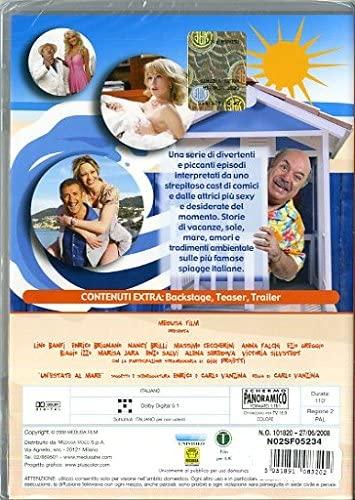 Anna Falchi, Victoria Silvstedt, Lino Banfi, Ezio Greggio, and Gigi Proietti in Un'estate al mare (2008)