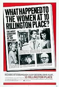 10 Rillington Place (1971) Poster - Movie Forum, Cast, Reviews