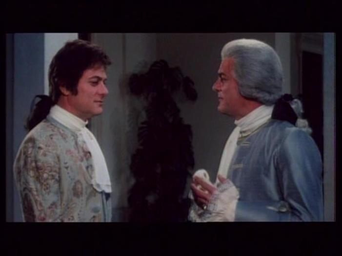 Tony Curtis in Casanova & Co. (1977)
