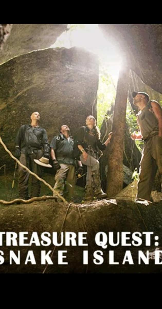 treasure quest snake island cast