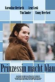 Prinzessin macht blau Poster