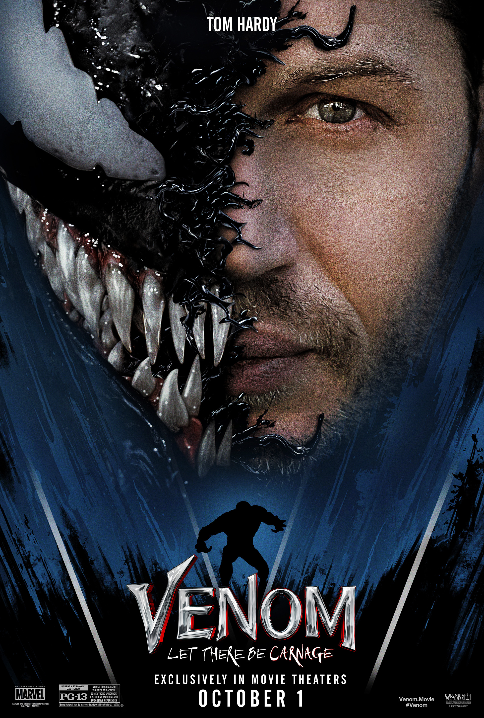 Venom 2: Let There Be Carnage (2021) Dual Audio 480p HDCAM [Hindi + English] Download