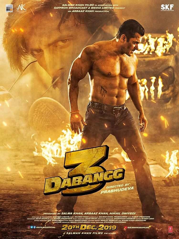 Dabangg 3 (2019) Hindi 720p NEW PreDVDRip Full Bollywood Movie [800MB]
