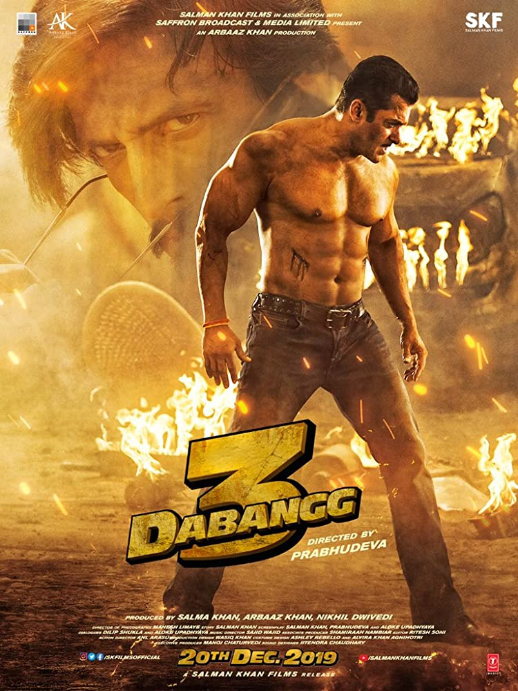 Dabangg 3 (2019) Hindi PreDVD 720p 480p