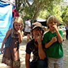"""nose picking break on set of """"What Lola wants"""" with director Rupert Glasson"""