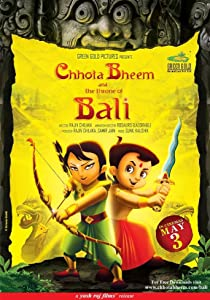 Chhota Bheem and the Throne of Bali by Rajiv Chilaka