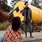 Dermot Mulroney and Steve Antin in Survival Quest (1988)