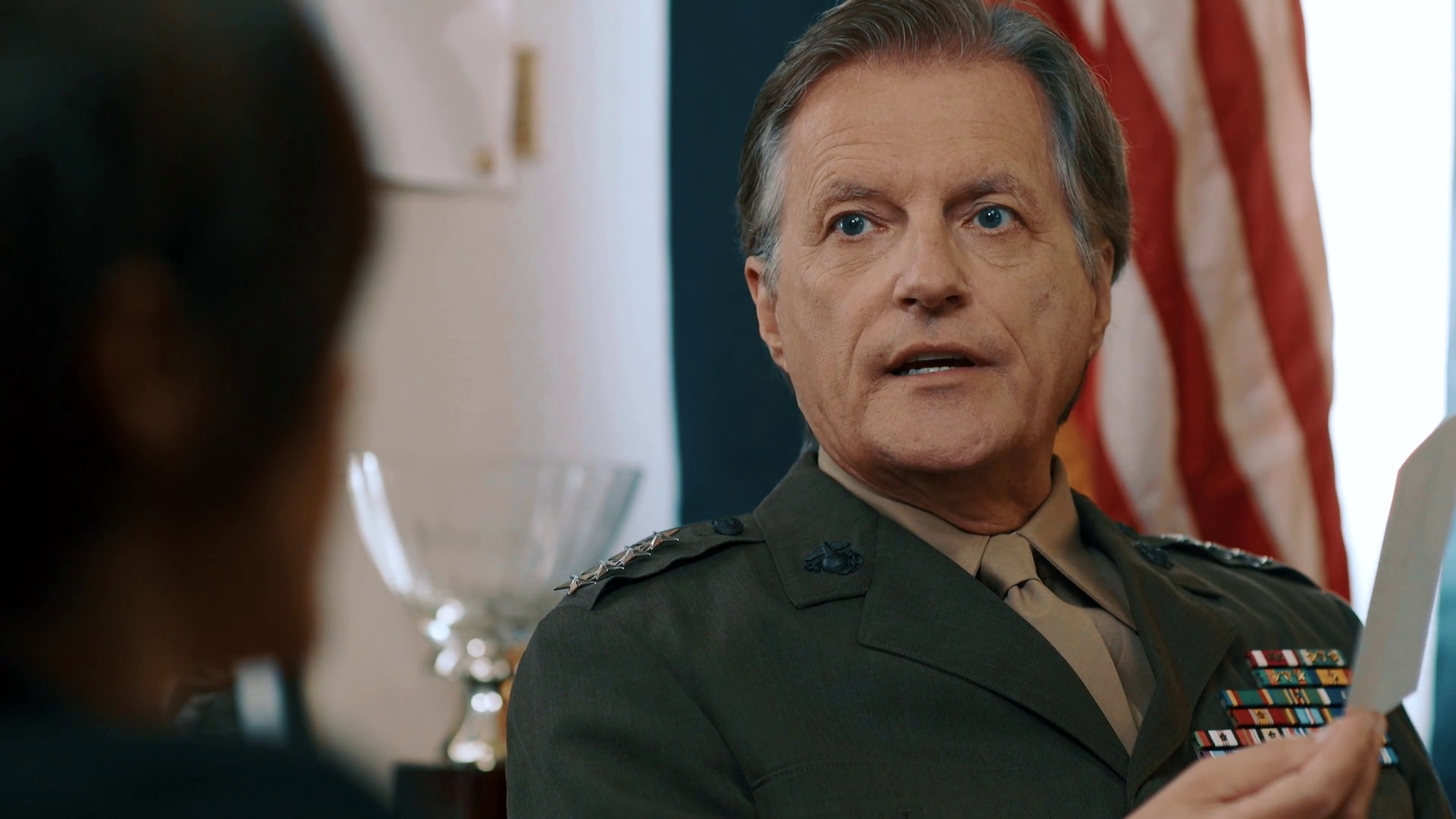 As General Dunkirk in SPACE FORCE (2019)