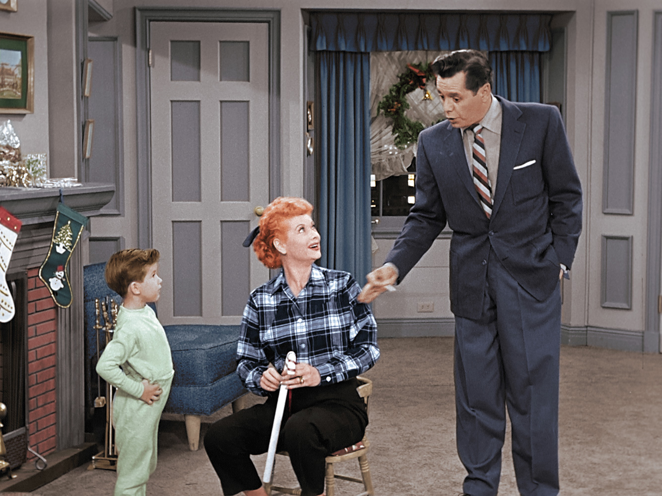 the i love lucy christmas show 1956 - I Love Lucy Christmas Special