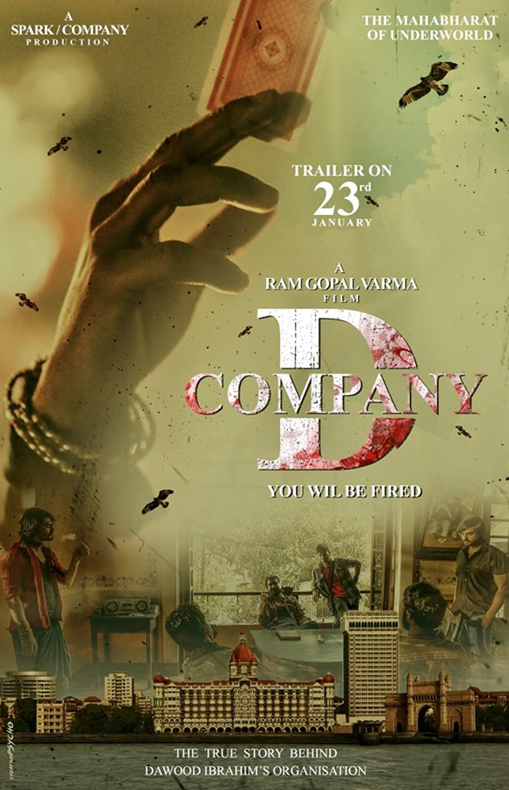 D Company 2021 Hindi 720p HDRip 1.03GB Download