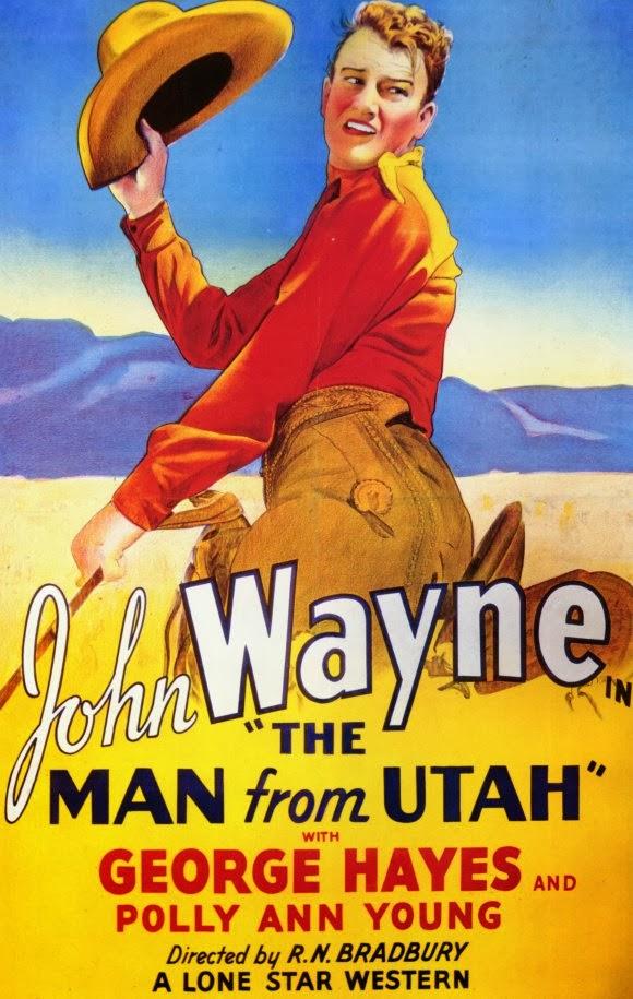 John Wayne in The Man from Utah (1934)