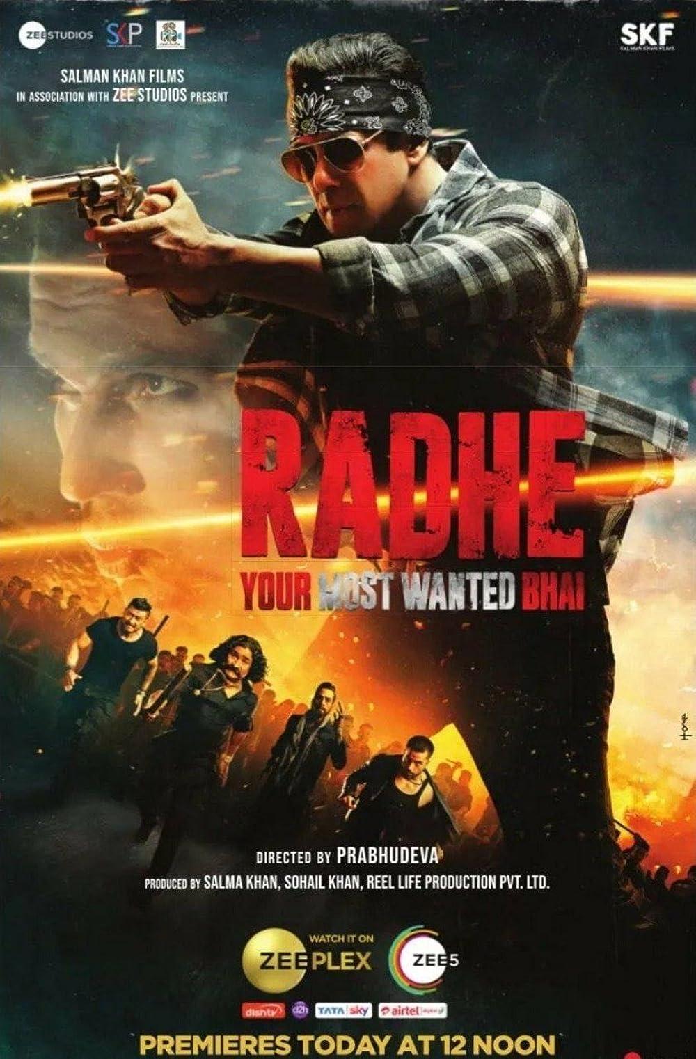 Radhe (2021) Hindi 1080p TRUE WEB-DL x264 AAC 1.2GB Download
