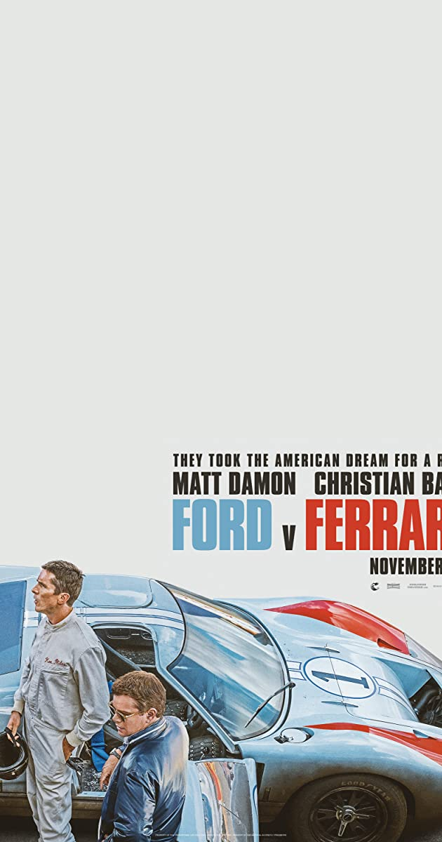 Watch Full HD Movie Ford v Ferrari (2019)