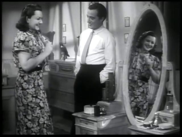 Vittorio De Sica and Paola Barbara in La peccatrice (1940)
