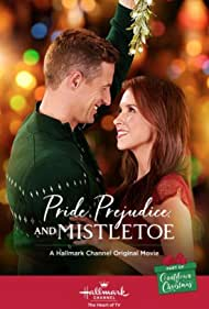 Lacey Chabert and Brendan Penny in Pride, Prejudice, and Mistletoe (2018)