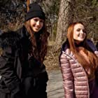 Maiara Walsh and Larissa Manoela in The Secret Diary of an Exchange Student (2021)