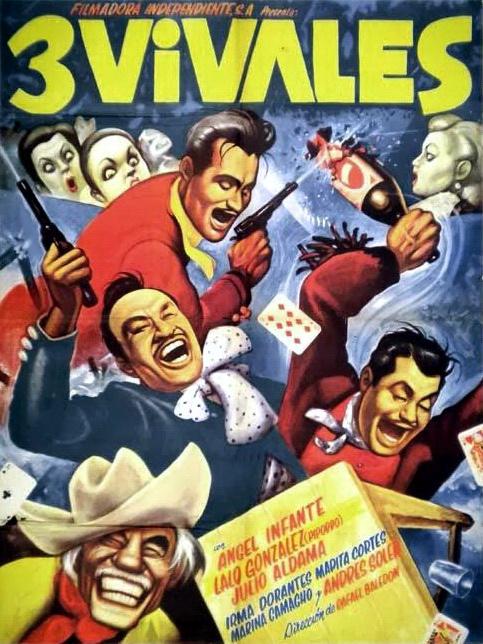 Los tres vivales (1958)