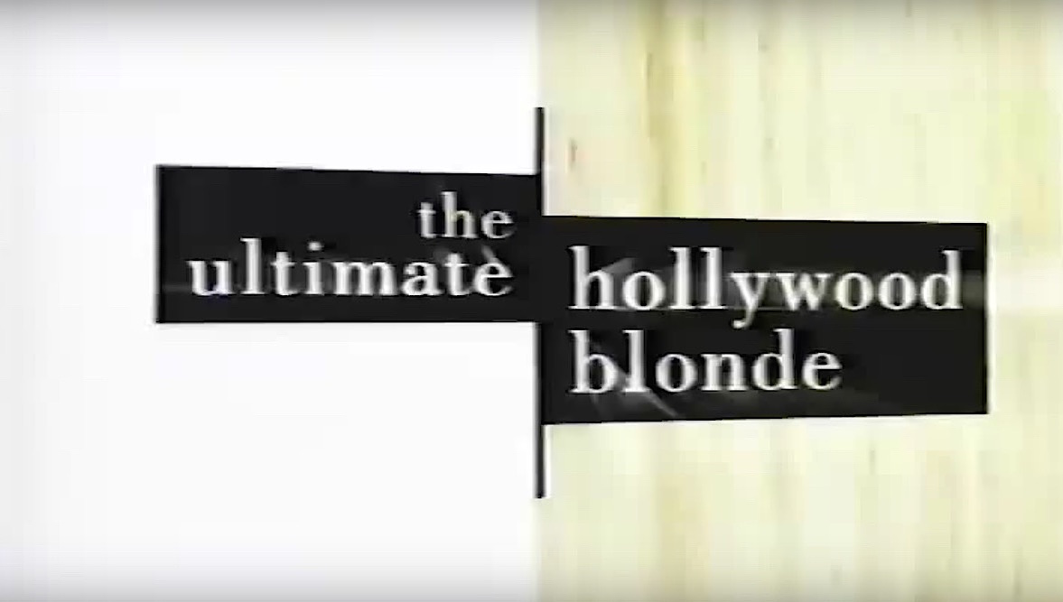 The Ultimate Hollywood Blonde (2004)