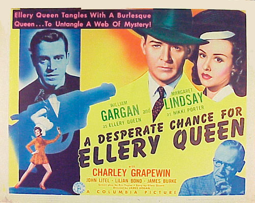 Lilian Bond, William Gargan, Charley Grapewin, Jack La Rue, and Margaret Lindsay in A Desperate Chance for Ellery Queen (1942)