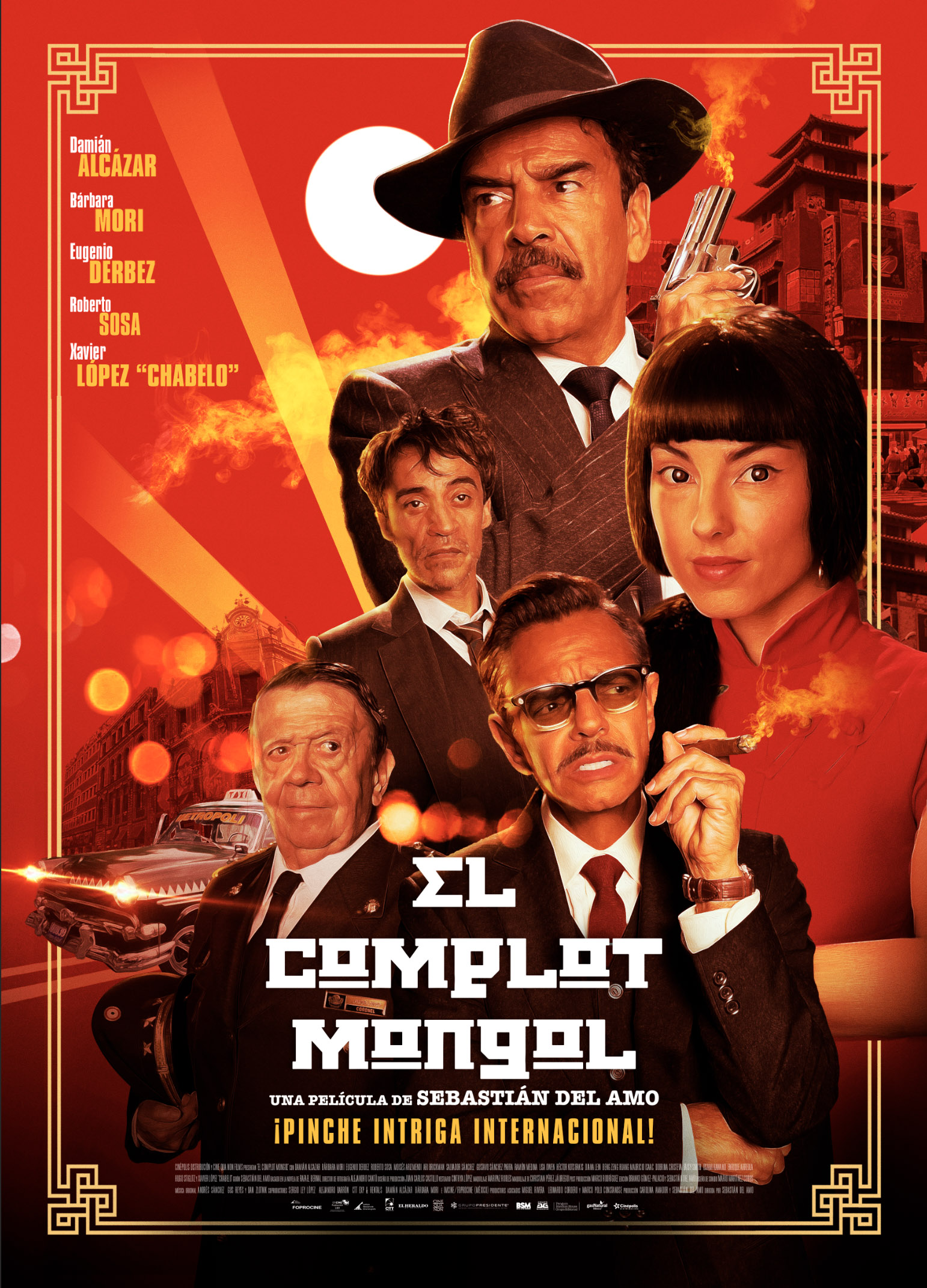 El Complot Mongol (2019) - IMDb