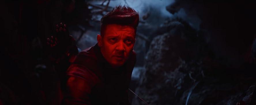 Jeremy Renner alias Hawkeyes dans Avengers 4