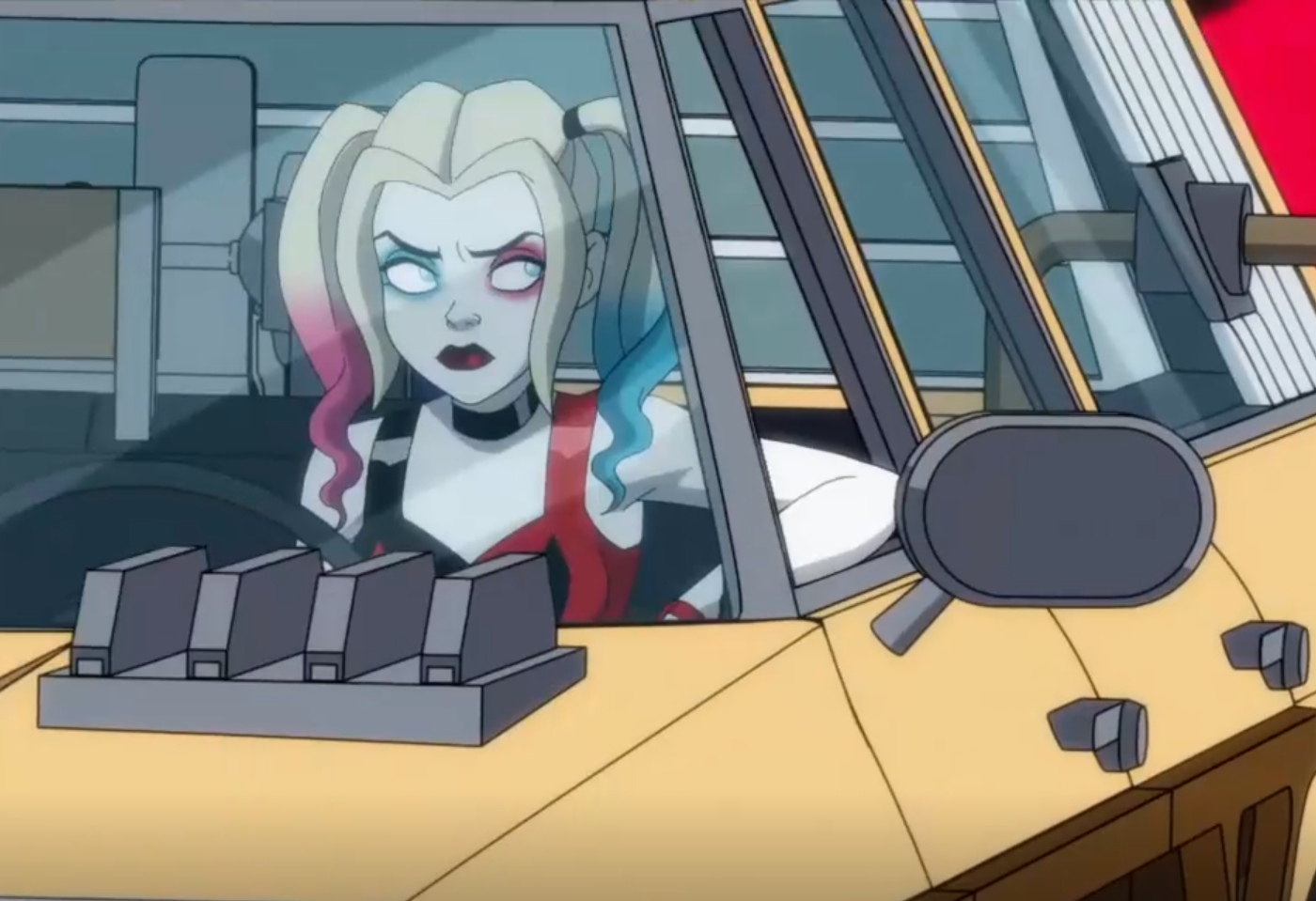 Kaley Cuoco in Harley Quinn Highway (2020)