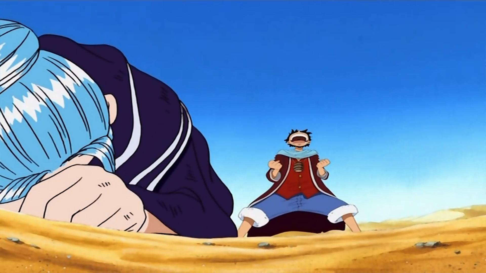 One Piece Luffy Tai Vivi Nakama Ni Kakeru Namida No Chikai Tv Episode 2002 Imdb