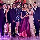 Lisa Vidal, Carlos Gómez, Victor Rasuk, Madelyn Sher, Nathalie Kelley, David Del Rio, and Belissa Escobedo in May I Have This Dance? (2020)